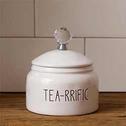 Simple Farmhouse Tea Canister