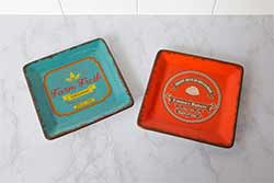 Emma's Bakery & Farm Fresh Organic Retro Plates (Set of 2)