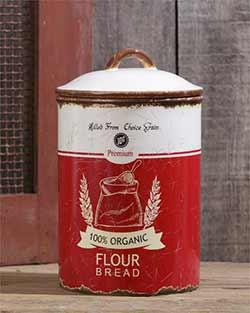Retro Flour Canister