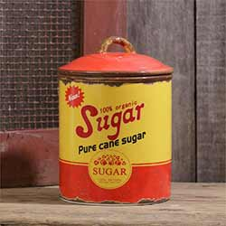 Retro Sugar Canister