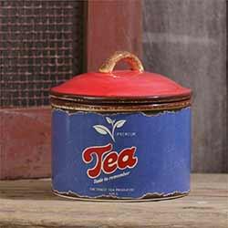 Retro Tea Canister