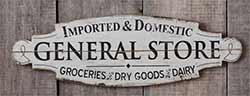 Vintage General Store Sign