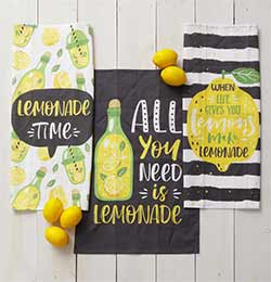 Lemonade Tea Towels (Set of 3)