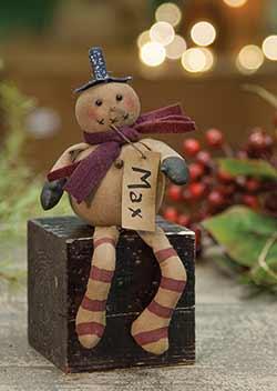 Mini Max Snowman Doll