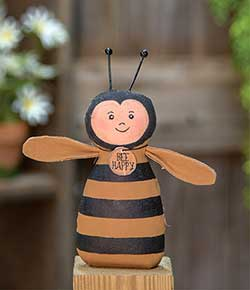 Bee Happy Primitive Doll