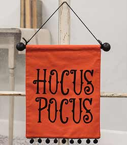 Hocus Pocus Fabric Wall Hanging