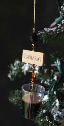 Espresso Ornament