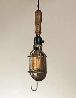 Reproduction Vintage Trouble Light with Reflector