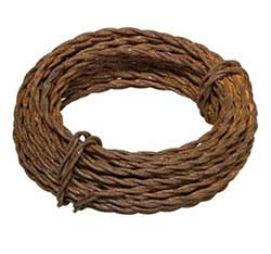 Rusty Twisted Wire (6 yards)