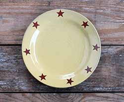 Redware Salad Plate