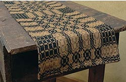 Westbury Black & Mustard 32 inch Table Runner