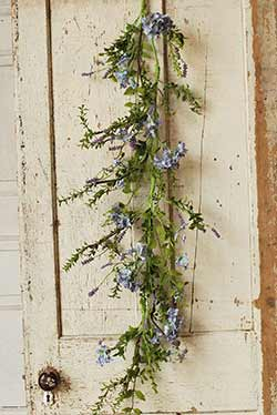 Lilac Floral Garland