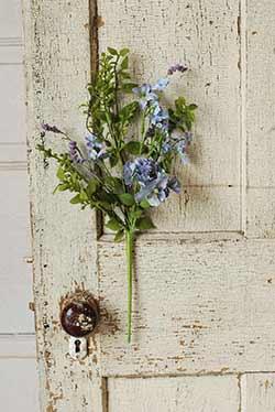 Lilac Floral Pick