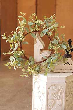 Lamb's Ear Greenery Wreath