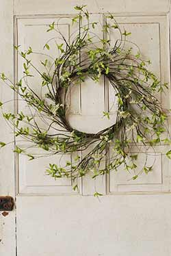 Twig & Leaf Greenery Wreath