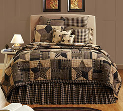 Bingham Star Quilt - Luxury King