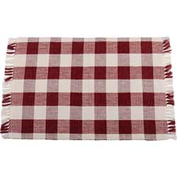 Buffalo Check Red Placemat