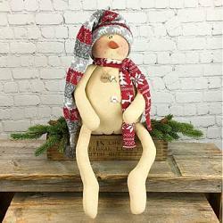 Oakley the Snowman Doll