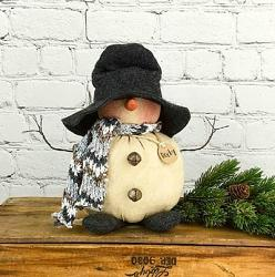 Rocky the Snowman Doll