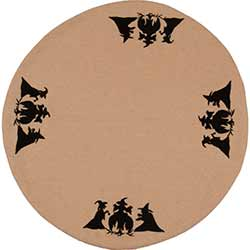 Witches Brow Candle Mat