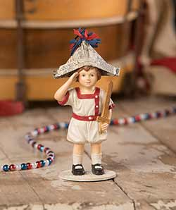 I Pledge Allegiance Boy Figurine