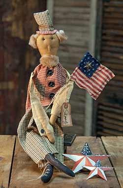 Uncle Sammy Primitive Doll
