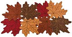 Fall Leaves 24 inch Table Runner
