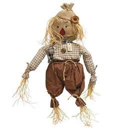 Primitive Edgar Scarecrow Doll