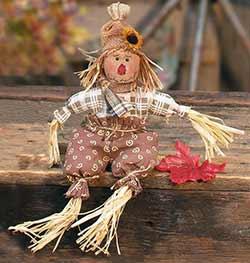 Primitive Eddie Scarecrow Doll