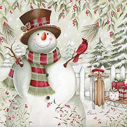 Snowman with Sled Coaster