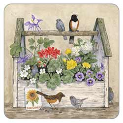 Toolbox and Birds Coaster