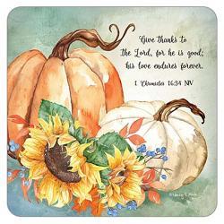 Harvest Pumpkins Coaster