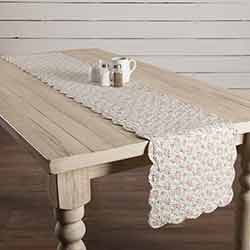 Carol Quilted 72 inch Table Runner