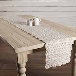 Carol Quilted 90 inch Table Runner