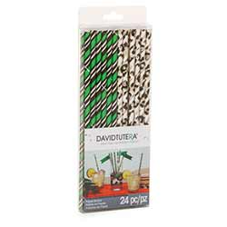 Wild Side Paper Straws (Set of 24)