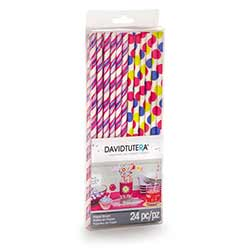 Brights Paper Straws (Set of 24)