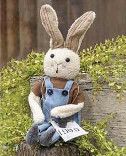 Buddy Primitive Bunny Doll
