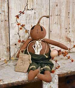Pudgie Pumpkin Doll