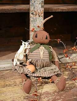 Polly Pumpkin Doll