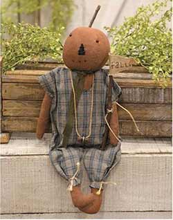 Lewis Pumpkin Doll