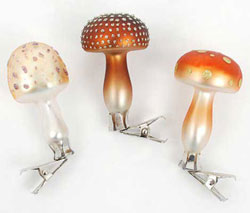 Mini Mushroom Clip