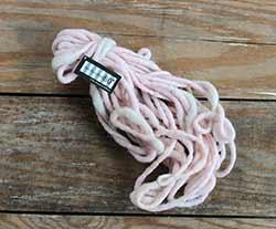 Wool Felt Rope - Pink