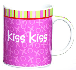 Love Mug - Kiss Kiss