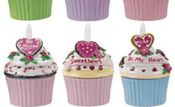 Be Mine Blow-out Cupcake Trinket Box