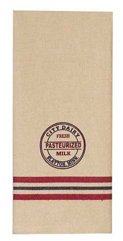 City Dairy Towel