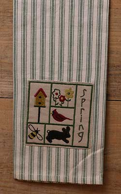 Spring Sampler Kitchen Towel