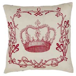Elysee Crown Decorative Pillow