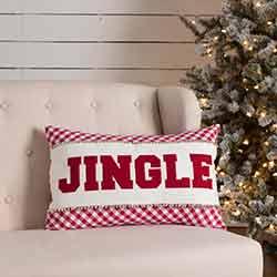 Emmie Jingle Pillow (14x22)