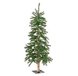 Pre-Lit Alpine Christmas Tree - 5 foot