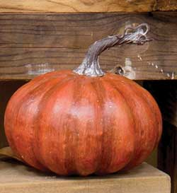 Mini Faux Pumpkin - 6 inch
